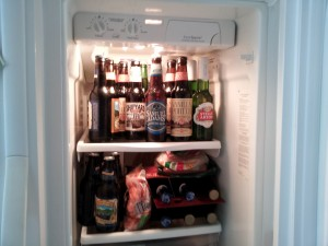 Fridge Full Of Beer