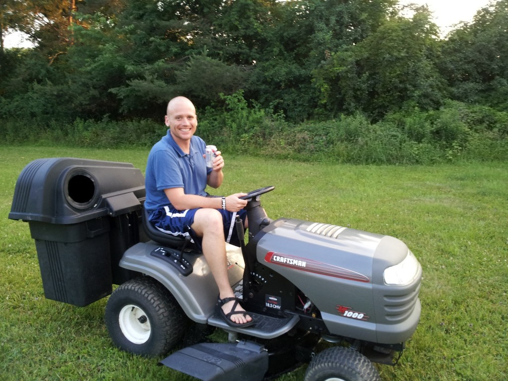 Craftsman 42 inch mower with Adam