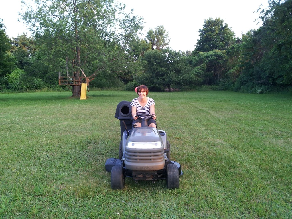 Craftsman 42 inch mower with Jeney