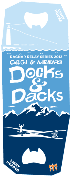 Ragnar Double Medal Docks and Dacks