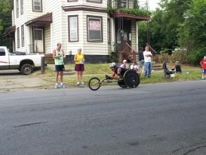 Boilermaker wheelchair racer