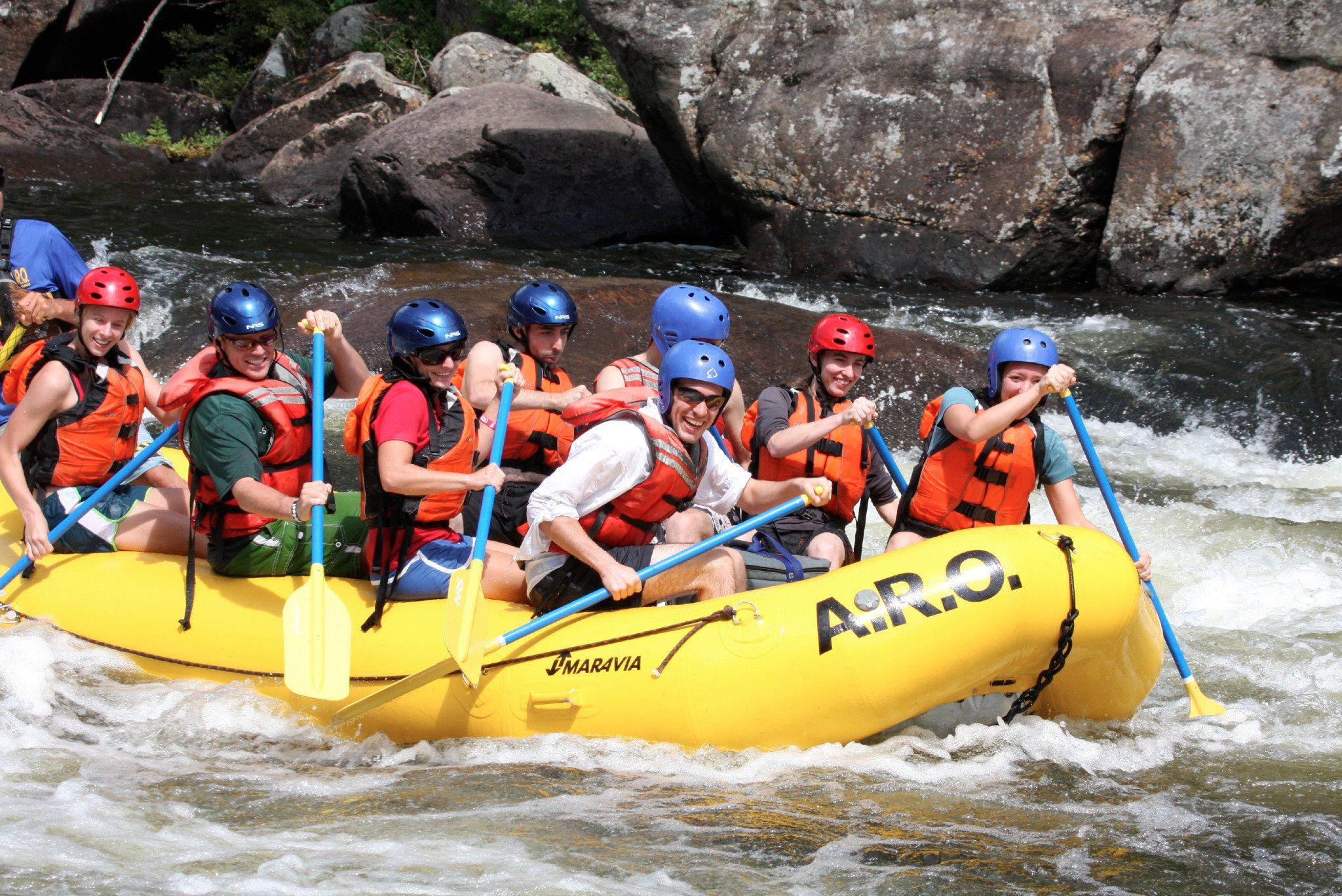 Adirondack White Water Rafting