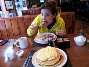 Pre Ragnar Breakfast