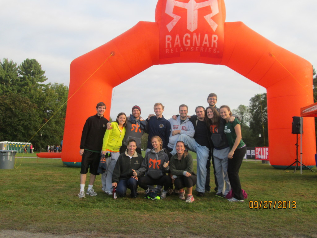 Ithaca Ragnar Adirondacks 2013 Team