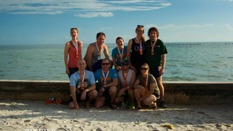 Ragnar Florida Keys Team Sudo Run Faster Pic 2014 Finish
