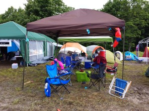 Therapy Bears WV Ragnar campsite