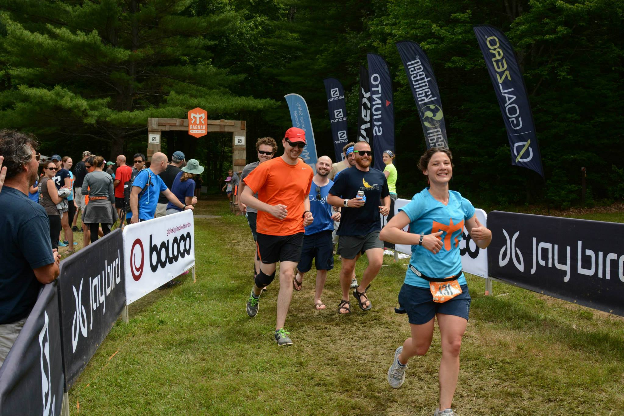 Finishing the Ragnar Trail MA 2015